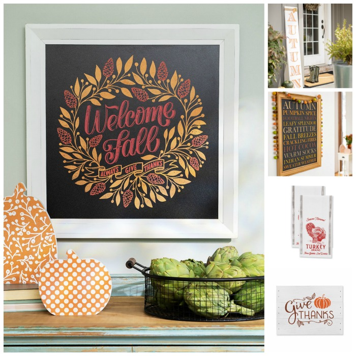 Chalk Couture DIY Fall and Thanksgiving Transfer Designs available from Knick of Time