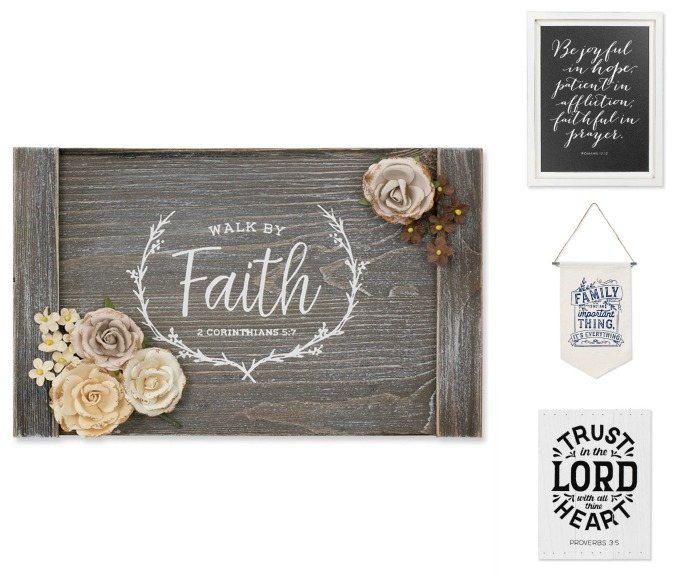 Chalk Couture Family and Scripture Transfer Designs available from Knick of Time