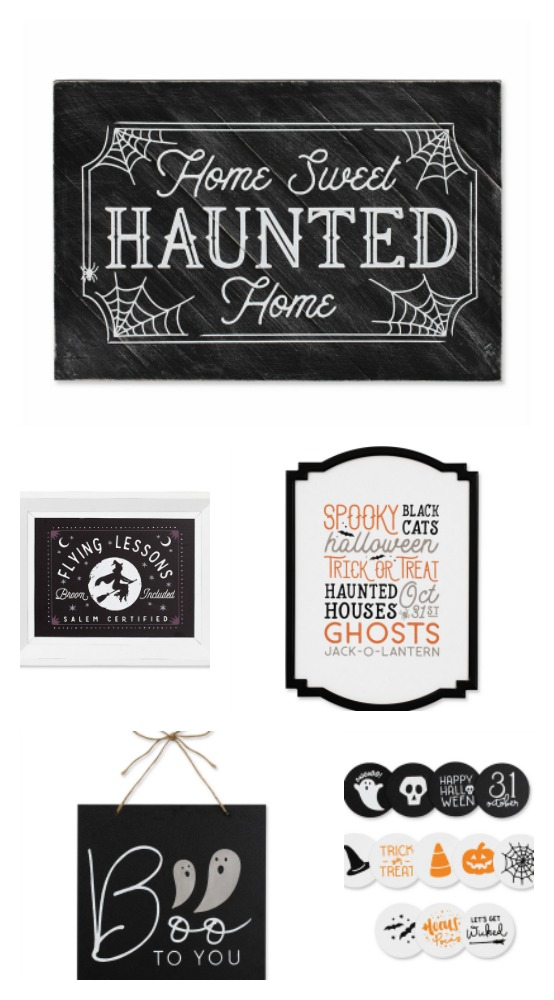 Chalk Couture Halloween Transfer Designs available from Knick of Time