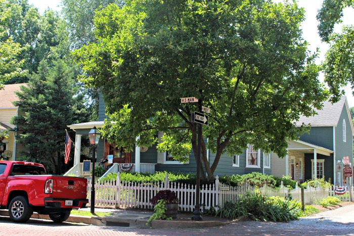 Historic Main Street St. Charles home