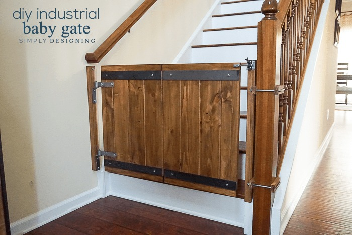 How to make a Industrial DIY Baby Gate