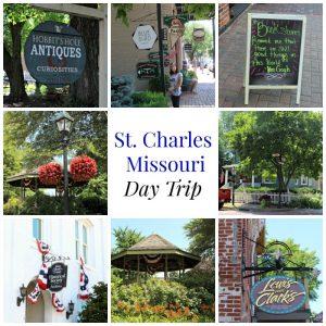 St. Charles Missouri Day Trip