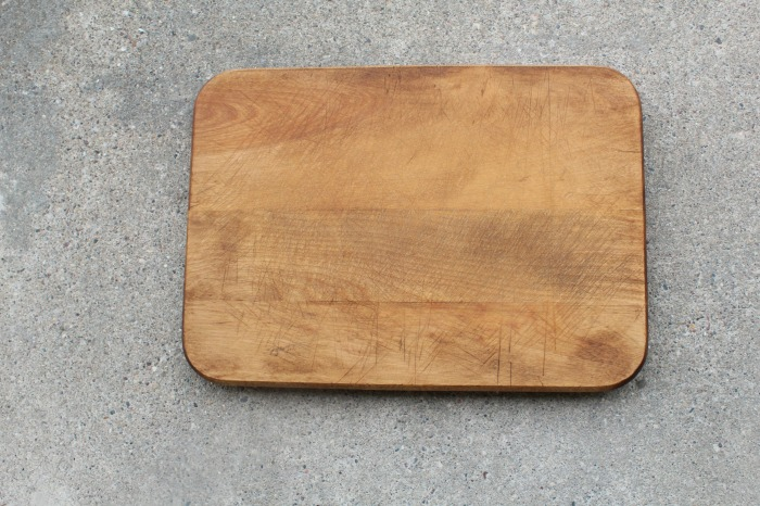 thrift store cutting board