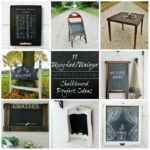 11 Upcycled/ DIY Back to School Chalkboard Project Ideas from Knick of Time| www.knickoftime.net