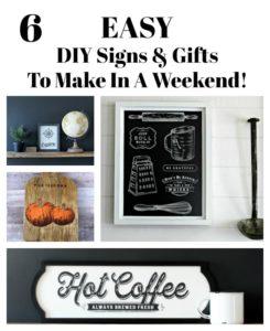 Trendy DIY Signs to make in a weekend!