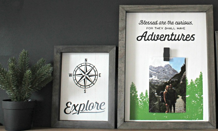 DIY Outdoor Nature Travel Sign by Knick of Time