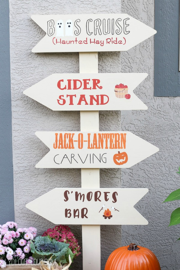Fall Festival Porch Sign