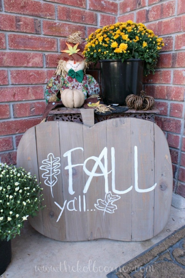 How to Make a Wooden Pumpkin Fall Sign