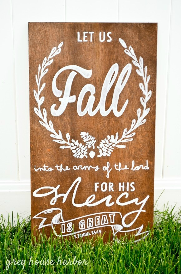 Seasonal Fall DIY Sign