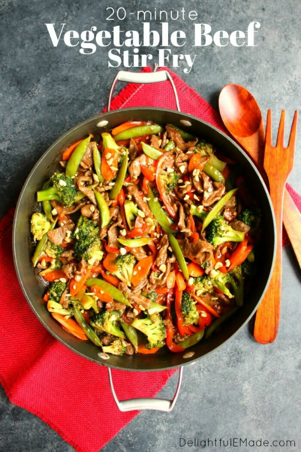 Vegetable Beef Stir Fry