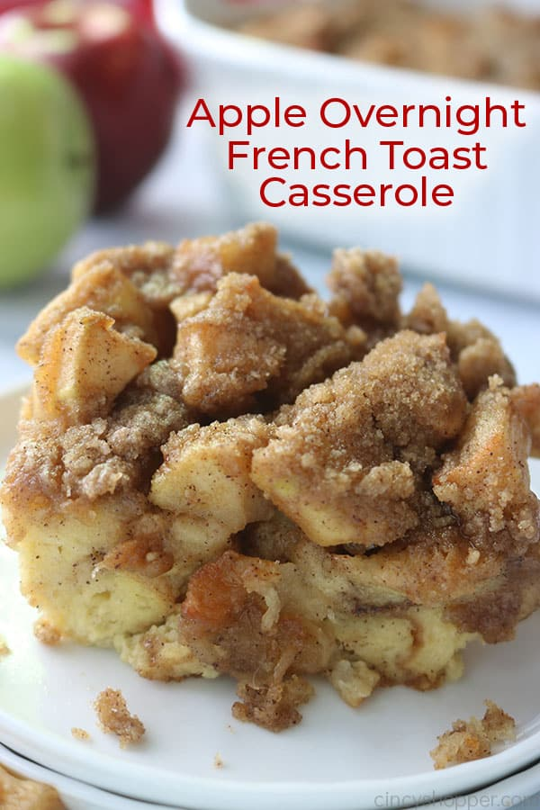 Apple Overnight French Toast Casserole