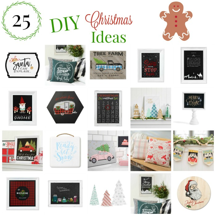 25 DIY Christmas Project Decor Ideas