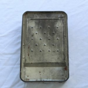 vintage ladder paint pan tray flea market find