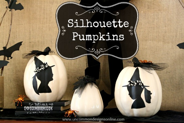DIY Custom Silhouette Pumpkins