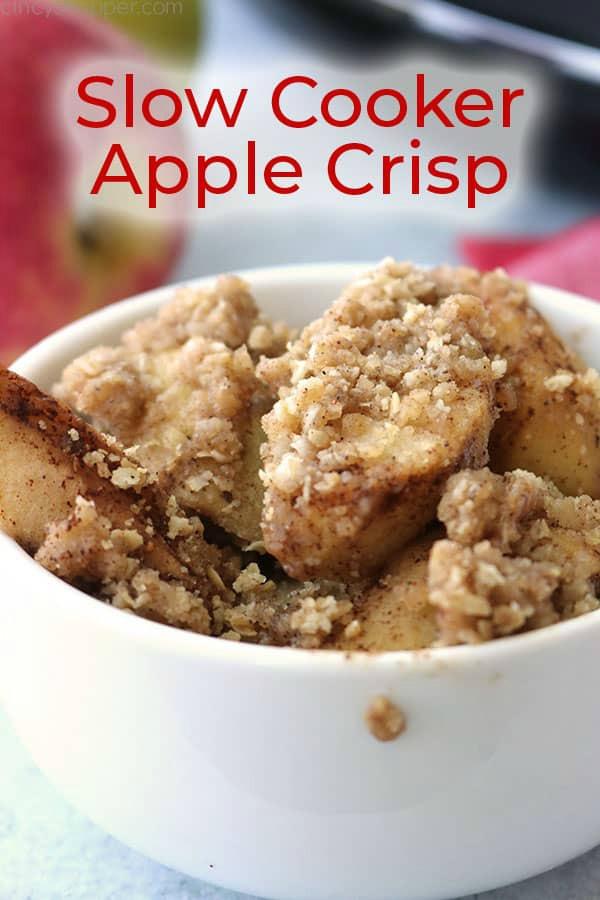Slow Cooker Apple Crisp