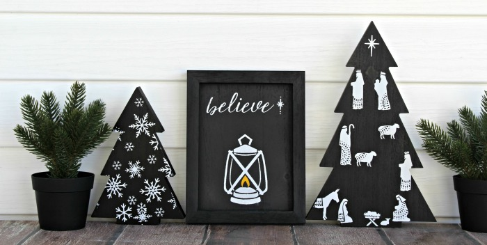 Chalk Couture Tree Cutouts