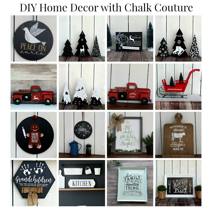 Chalk Couture Handmade Christmas and Home Decor by Knick of Time