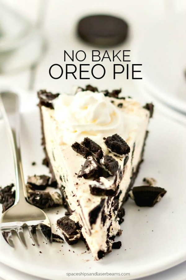 No Bake Oreo Pie