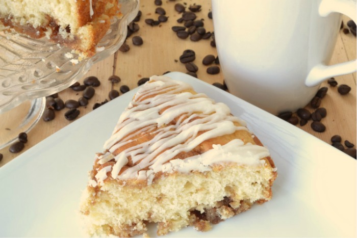 Simple Saturday Morning Baking Mix Coffee Cake
