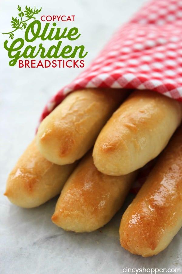 CopyCat Olive Garden Bread sticks