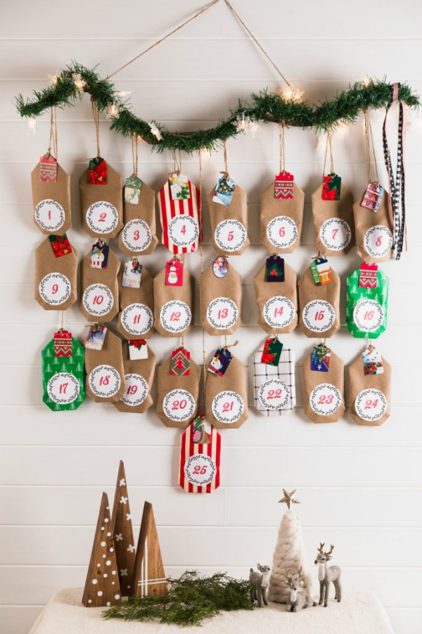 DIY Christmas Advent Calendar