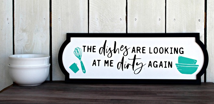 Chalk Couture The Dishes Are Looking At Me Dirty Again Farmhouse Kitchen Sign