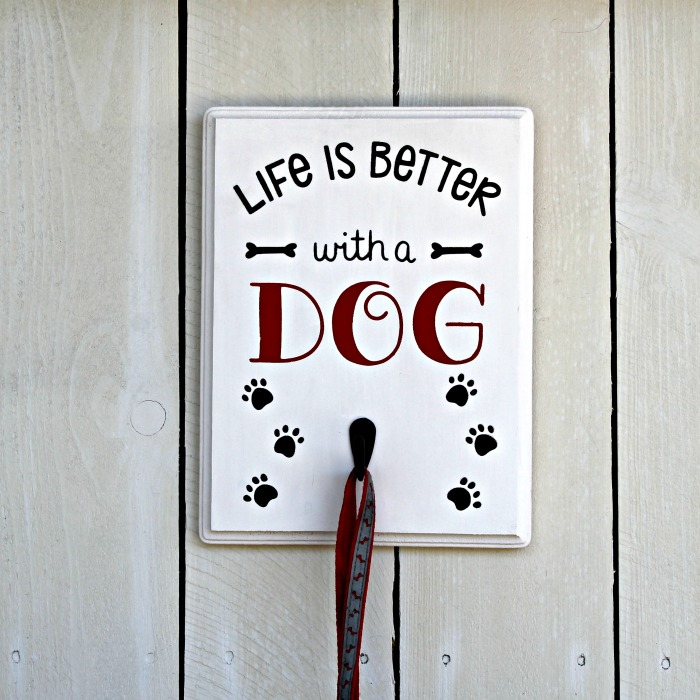 Life Is Better with a Dog Leash Hanger Knick of Time
