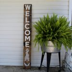 DIY Gnome Welcome Porch Sign